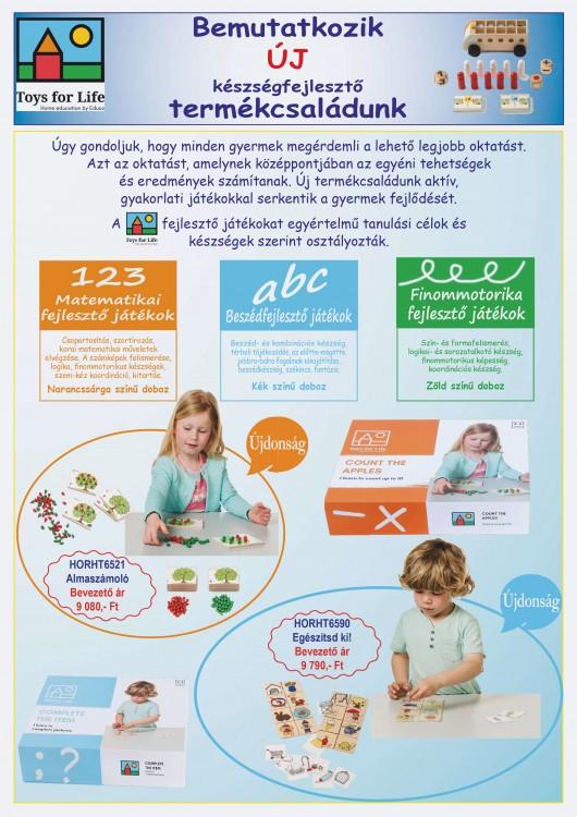 Új készségfejlesztő termékcsaládunk bemutatkozása